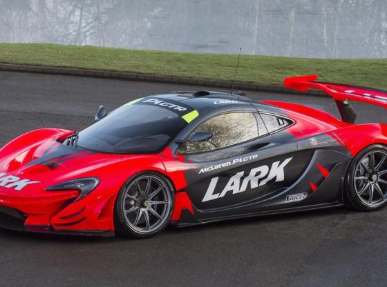 straatlegale McLaren P1 GTR te koop