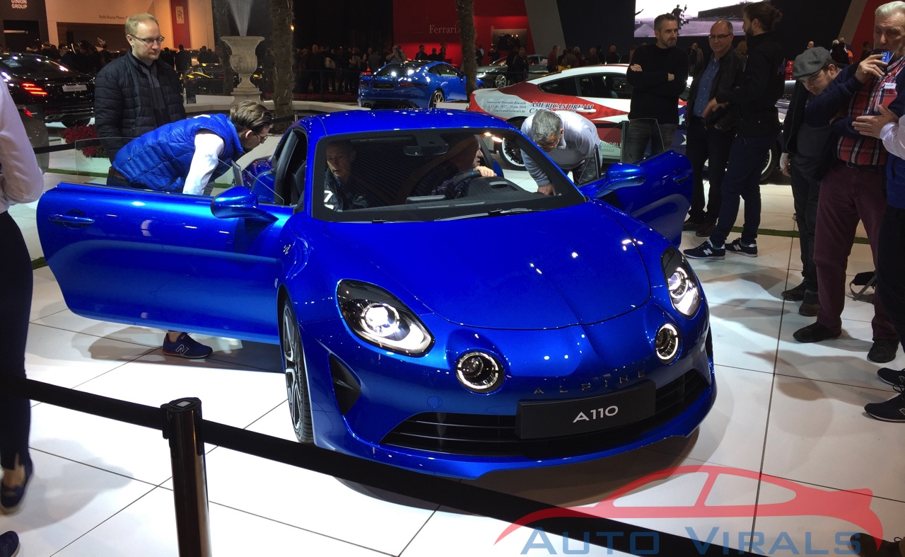 autosalon brussel alpine