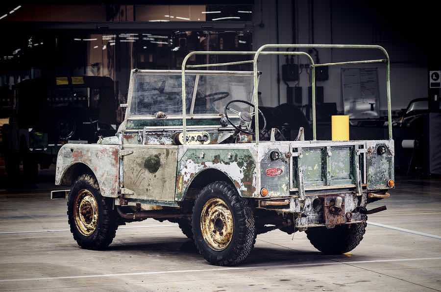 land rover 1948 restauratie