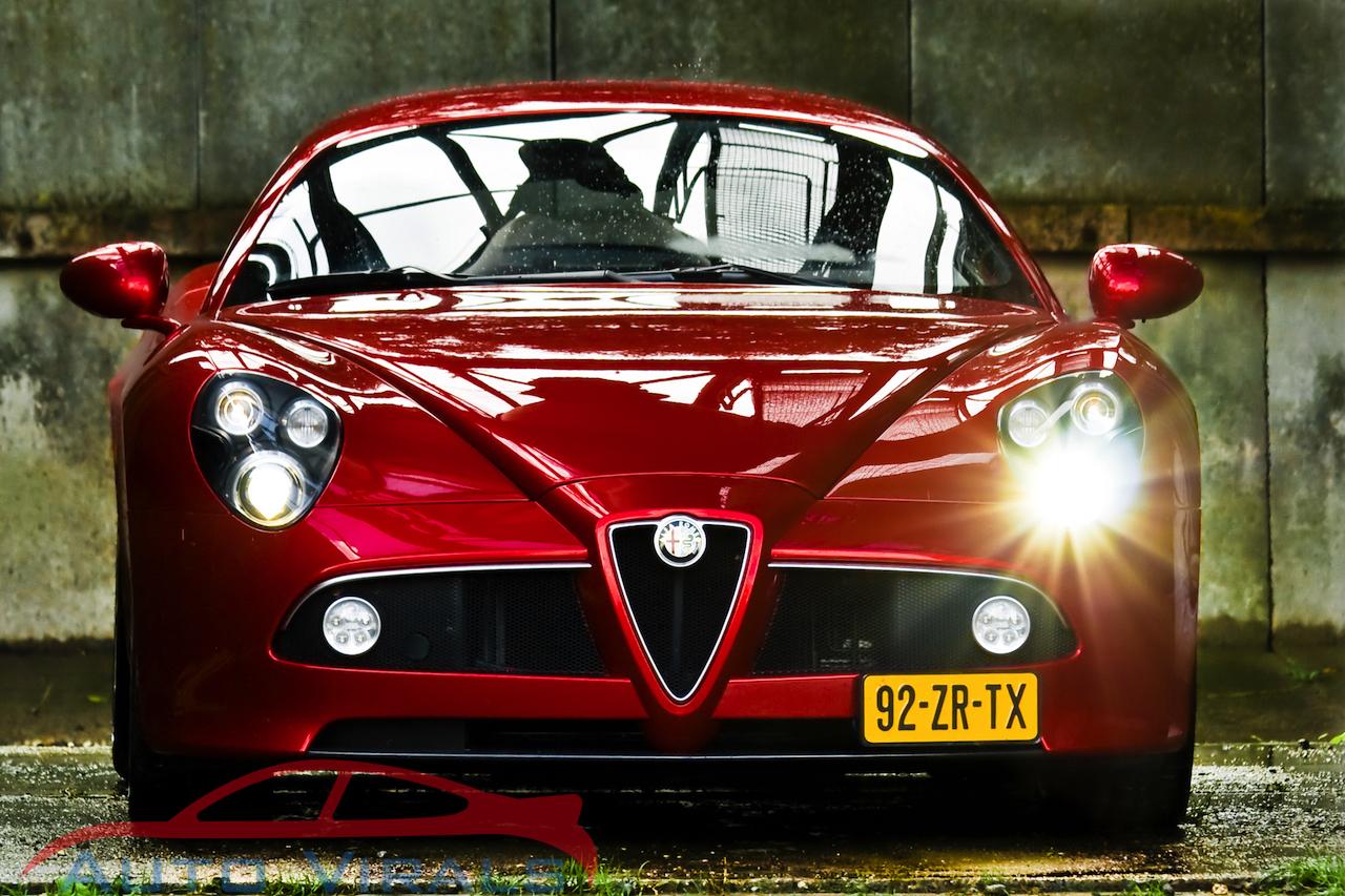 alfa romeo 8c competitizione 26 auto virals