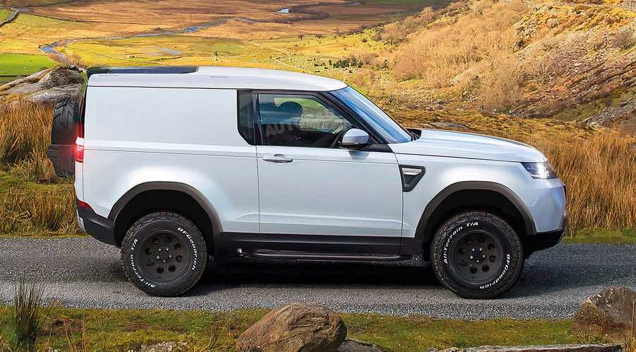 Land Rover Defender Autocar