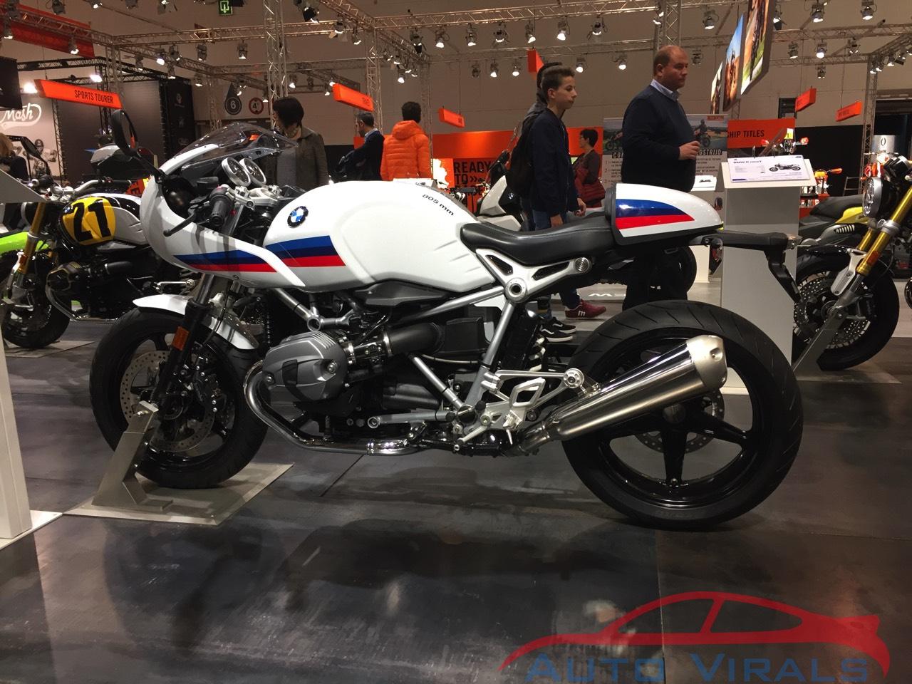 autosalon brussel BMW R nineT Racer
