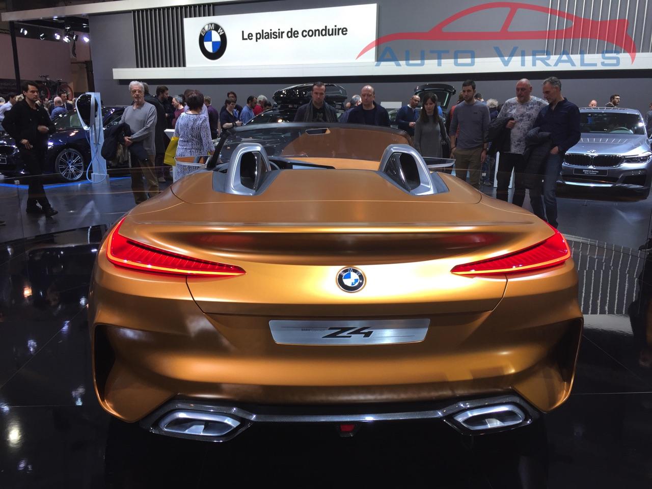 autosalon brussel bmw z4 concept