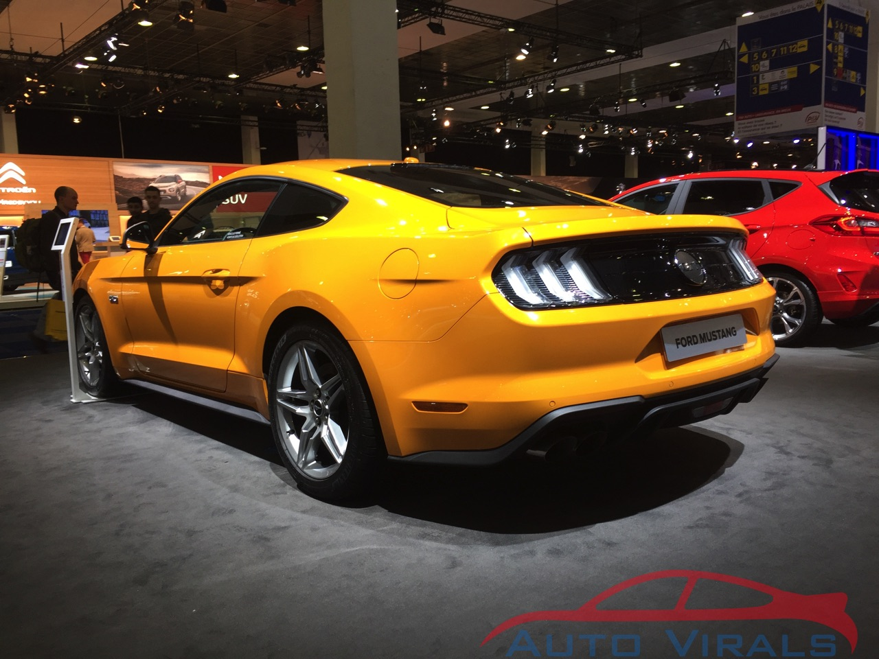 autosalon brussel ford mustang