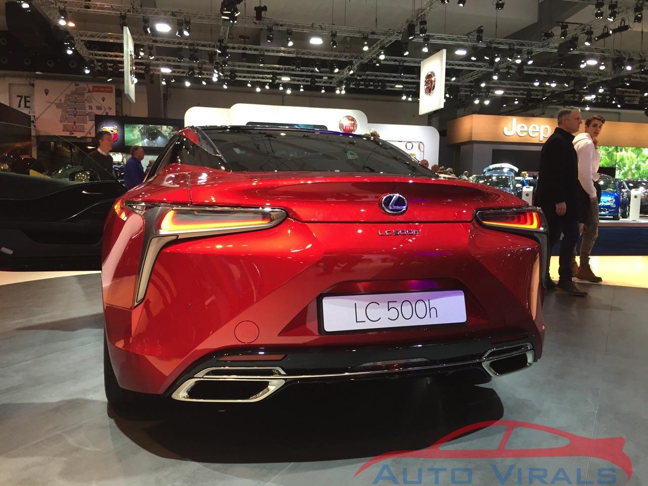 autosalon brussel lexus lc500h
