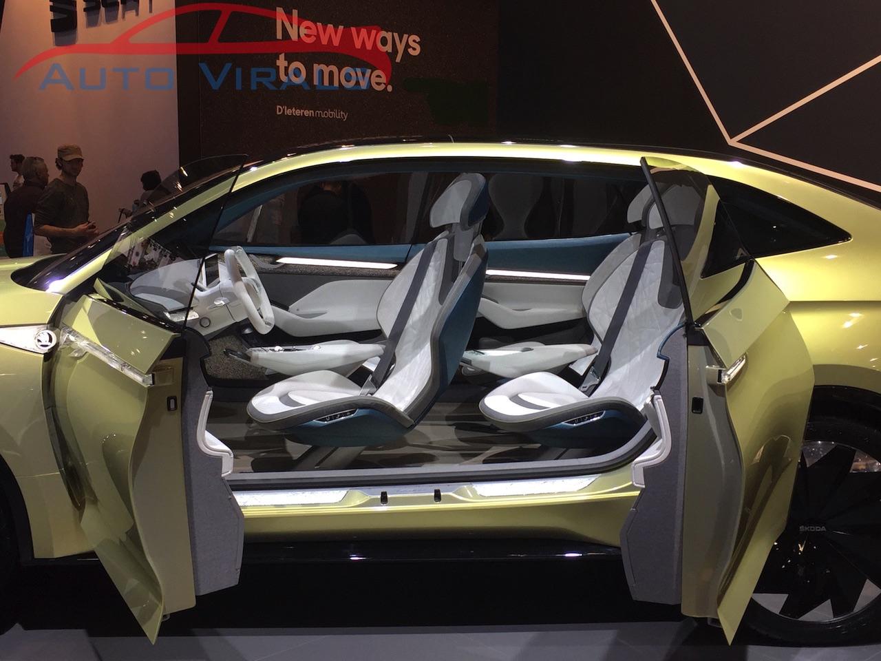 autosalon brussel skoda vision e concept 2