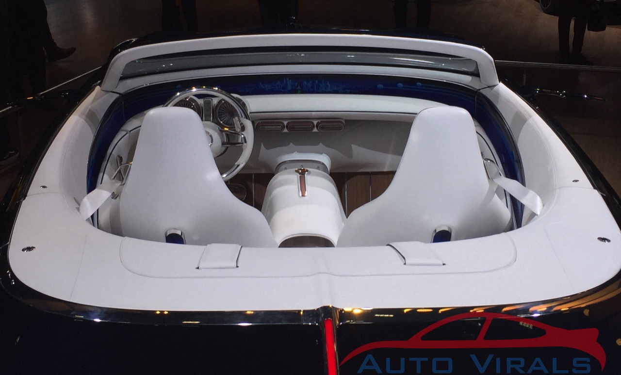 autosalon brussel vision mercedes maybach 6 cabriolet