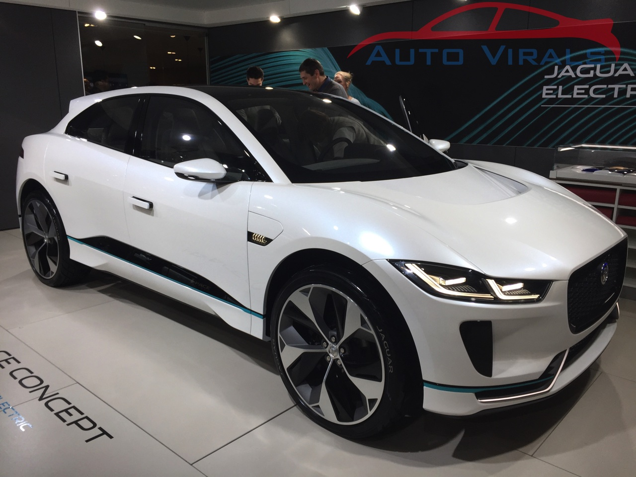 jaguar autosalon brussel