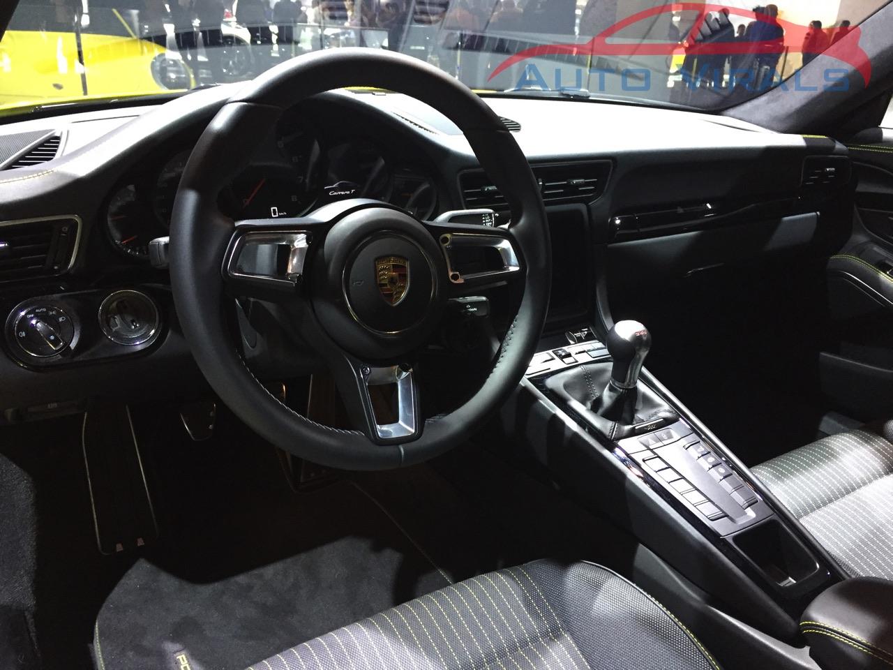 porsche 911 carrera t autosalon brussel