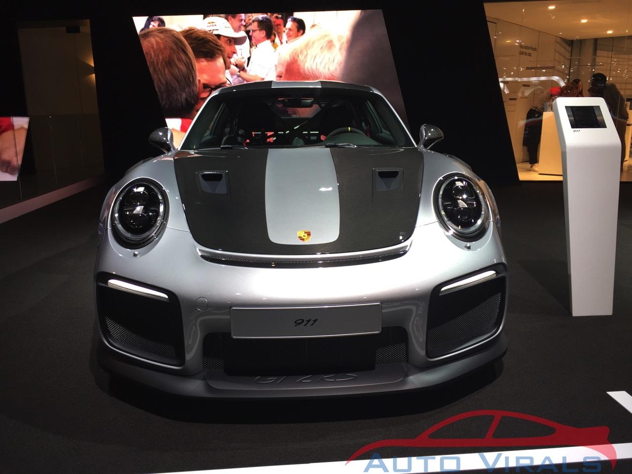 porsche 911 gt2 rs autosalon brussel