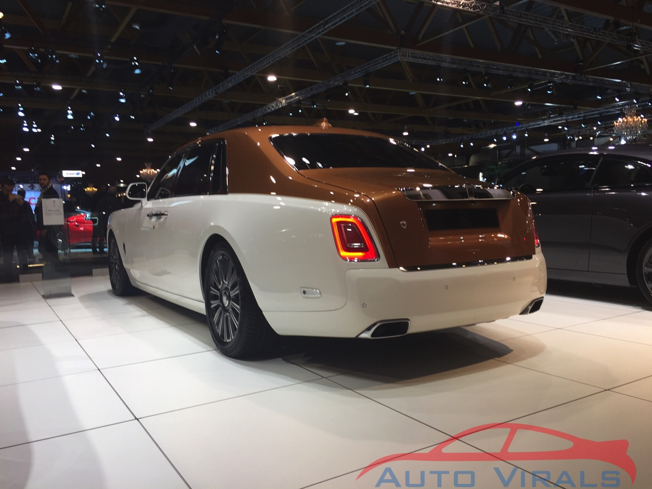 rolls royce ghost autosalon brussel