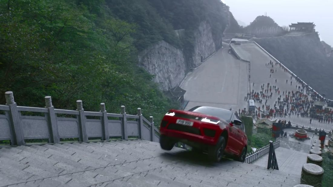 range rover sport trap op china 1